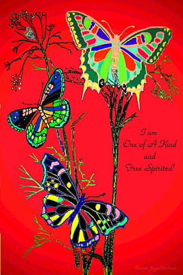 One Of A Kind Poster by Joyce Dickens