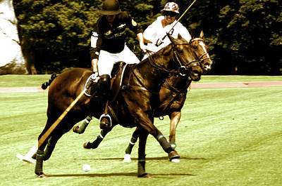 One On One Polo Poster