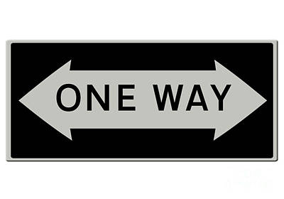 One Way Either Way Usa Poster