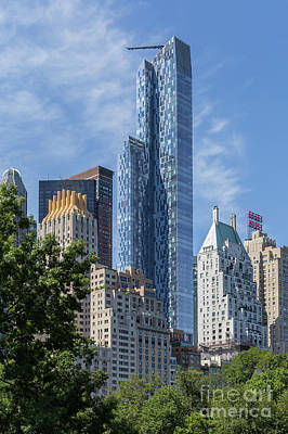 One57 Residential Tower I Poster by Clarence Holmes