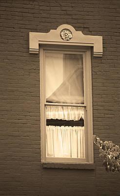 Jonesborough Tennessee - One Window Poster by Frank Romeo