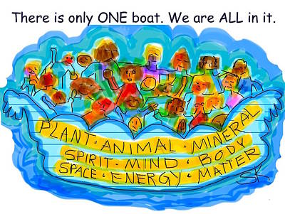 Only One Boat Poster by Sherry Killam