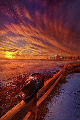 Poster featuring the photograph Only This Moment In Between Before And After by Phil Koch