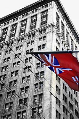 Ontario Flag Poster by Valentino Visentini