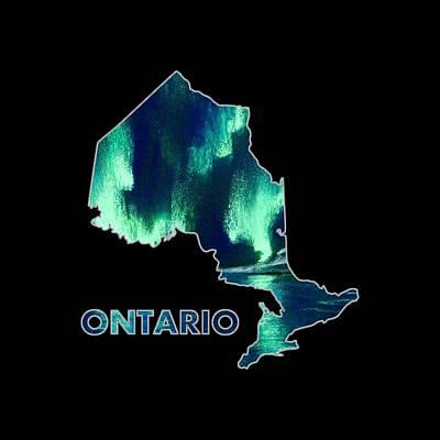 Ontario - Northern Lights - Aurora Hunters Poster