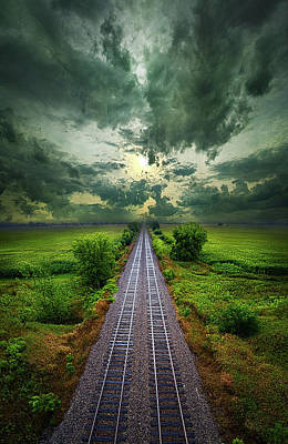 Onward Poster by Phil Koch
