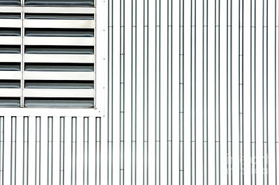 Open Air Grating Poster by Jan Brons