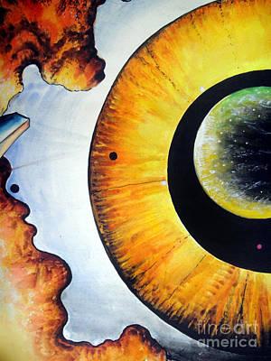 Open Mind. Door To Eternity Poster by Sofia Metal Queen