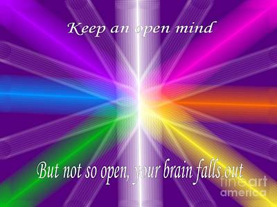 Open Mind Poster