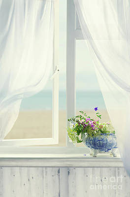 Open Window Poster by Amanda Elwell