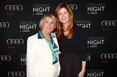 Opening Night With Despertate Housewives Castdana Delany And  Poster