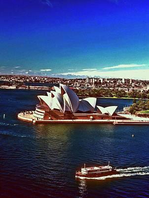 Opera House Sydney Austalia Poster by Gary Wonning