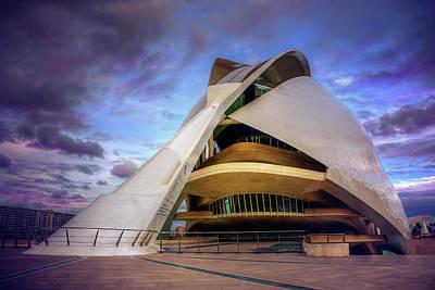 Opera House Valencia  Poster by Carol Japp