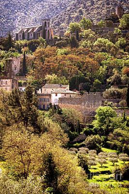 Oppede Le Vieux Landscape Poster
