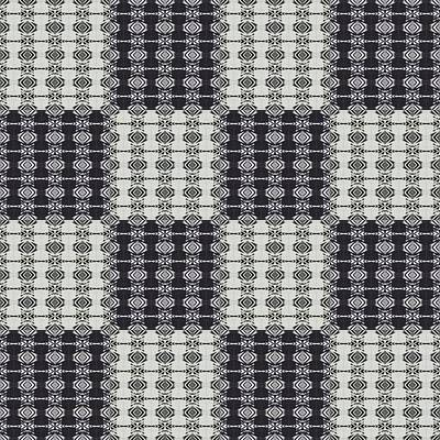 Opposites Attract Checkerboard Poster