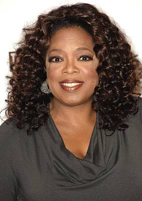 Oprah Winfrey At Arrivals For The Poster by Everett