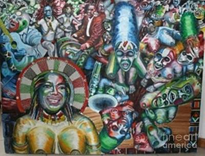 Oprahafrican Dance Poster