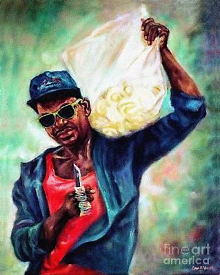 'orange Man' 1991 Poster