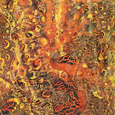 Orange Modern Art - Tiger Lily - Sharon Cummings Poster by Sharon Cummings