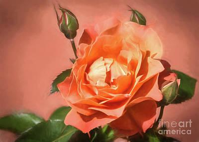 Orange Poetry Poster