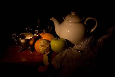 Orange Tea Poster