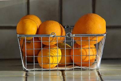 Orangey Poster by Dan Holm