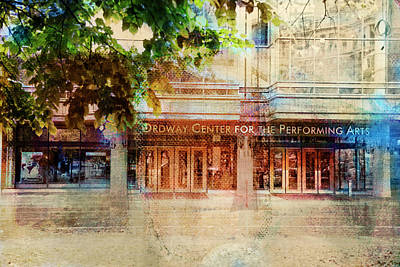Poster featuring the photograph Ordway Center by Susan Stone