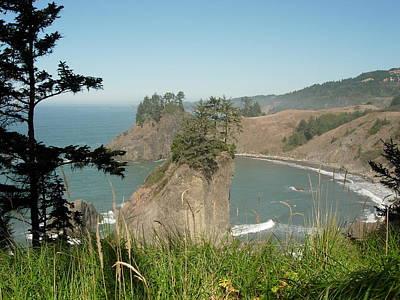 Oregon Coast Near Brookings Poster