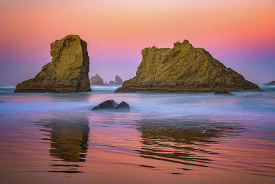 Poster featuring the photograph Oregon's New Day by Darren White