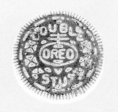 Oreo In Negetive Poster by Rob Hans
