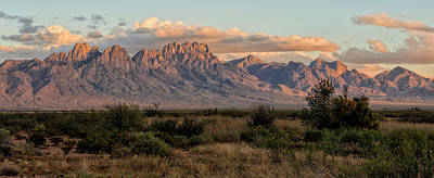 Organ Mountains, Las Cruces, New Mexico Poster by Loree Johnson
