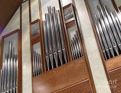 Organ Pipes Poster by Ann Horn
