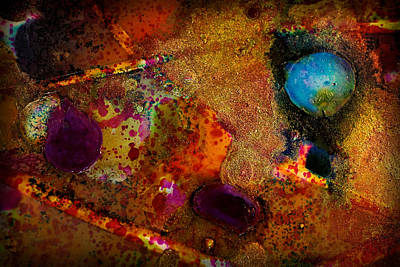 Organic Abstract 11 Poster by Lilia D