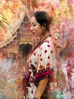 Oriental Beauty Poster by Steven Boone
