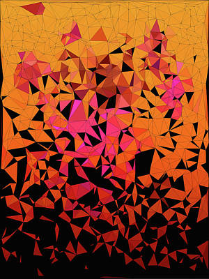 Origami Poster by Susan Maxwell Schmidt