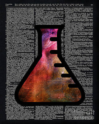 Orion Alchemy Vial Poster by Jacob Kuch