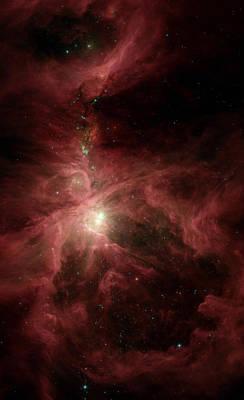 Orions Inner Beauty Poster by Stocktrek Images