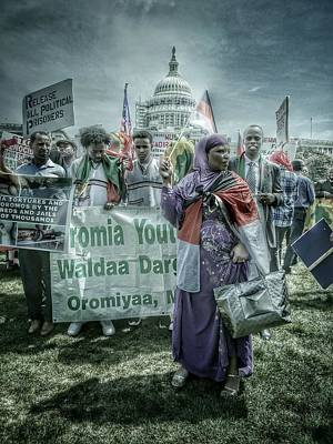 Poster featuring the photograph Oromo Unity by Ryan Shapiro