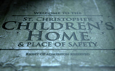 Orphanage Signage Poster