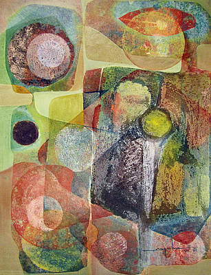 Os1961dc002bo Abstract Landscape Potosi 17x22.25 Poster