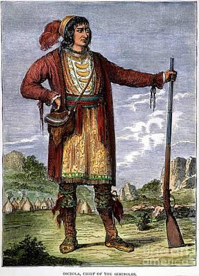 Osceola (c1804-1838) Poster by Granger