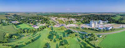 Panorama Of Osceola, Nebraska Poster