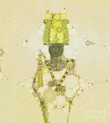 Osiris, God Of Egypt By Mb Poster