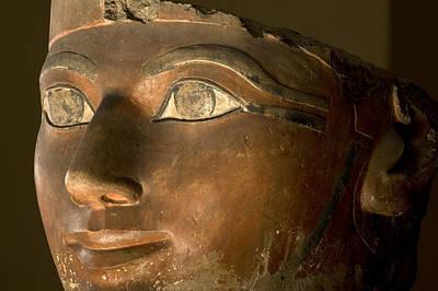 Osiris Statue Face Of Hatshepsut Poster