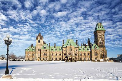 Ottawa Parliament East Block Poster