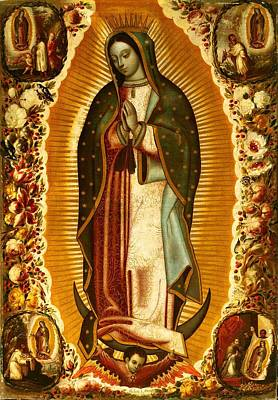 Our Lady Of Guadalupe Poster by Magdalena Walulik