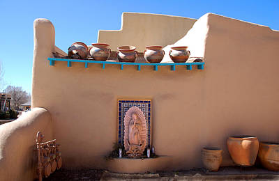 Our Lady Of Guadalupe Shrine Taos Poster