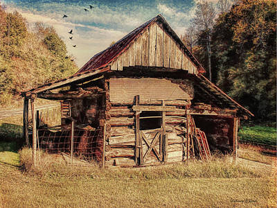 Poster featuring the photograph Out To Pasture 2 by Bellesouth Studio