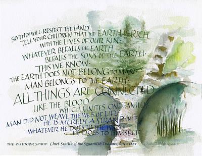 Outdoor Spirit Poster by Judy Dodds