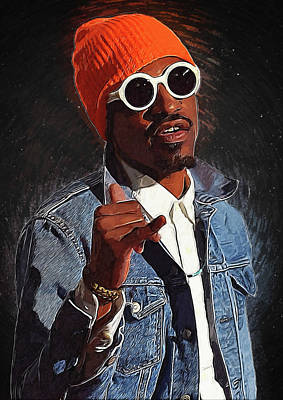 Outkast Andre 3000 Poster